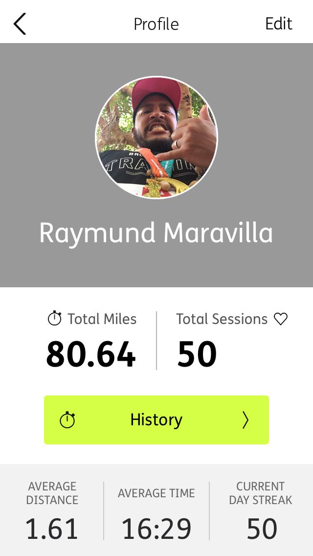 Daily Running Challenge